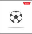 soccer ball icon football icon vector image