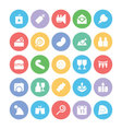 Celebration and Party Icons 9 vector image vector image