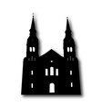 Church Silhouette vector image vector image