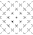 Crossed surfboards pattern simple style vector image vector image