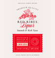 family recipe red ribes or currant liquor acohol vector image vector image