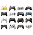 game controller video game console retro vector image
