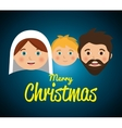 Merry christmas cartoons vector image vector image