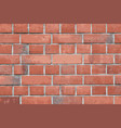 old vintage brick wall vector image
