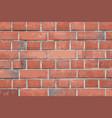 old vintage brick wall vector image vector image
