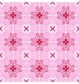 pink Abstract seamless ornamental vector image vector image