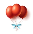 Realistic Cartoon Bunch of Balloons vector image
