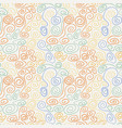 seamless swirl pattern vector image vector image