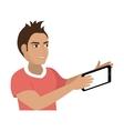 selfie photographic concept icon vector image