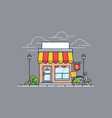 shop or market vector image