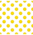 Smiley face pattern cartoon style vector image vector image