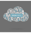 Social media conceptual vector | Price: 1 Credit (USD $1)