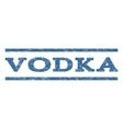 Vodka Watermark Stamp vector image vector image