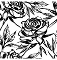 flower rose seamless 2 vector image