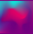 abstract blurred gradient background with trendy vector image vector image