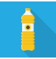 bottle vegetable oil vector image vector image