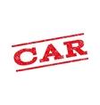 Car Watermark Stamp vector image vector image
