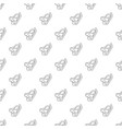 diving mask pattern seamless vector image vector image