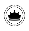 king crown icon vector image vector image