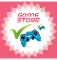 PC and Video Games Accept Icons vector image