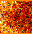 polygonal autumn background vector image vector image