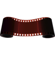 Scroll of two bobbin of one film vector image vector image