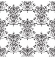 Seamless Paisley Doogle Pattern vector image vector image