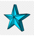 star icon hand drawn style vector image