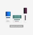 bakuchiol - natural retinol alternative vector image