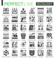 ecology technology classic black mini concept vector image vector image