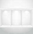 empty display window vector image vector image