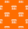 gas station pattern seamless vector image vector image