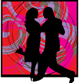 Man and woman together vector image