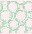 scribble circles seamless pattern vector image vector image