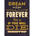 Typography motivational Can be used as a postcard vector image