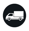 car cargo truck model transport vehicle block and vector image vector image