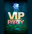 Disco ball background disco poster vip party