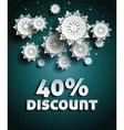 Discount vector image vector image