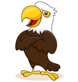 Eagle cartoon posing vector | Price: 3 Credits (USD $3)