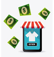 Ecommerce design vector image vector image