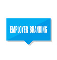 employer branding price tag vector image vector image