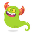 funny cartoon monster character vector image vector image
