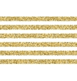 Gift glitter striped pattern vector image