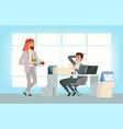 international business partners arab businessman vector image vector image