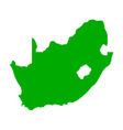 map south africa vector image vector image