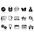 Program development icons set