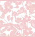 sakura japanese chinese cherry tree spring flowers vector image vector image