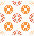 seamless pattern background with geometric rounded vector image