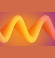 wavy shapes vector image vector image