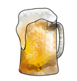 abstract beer